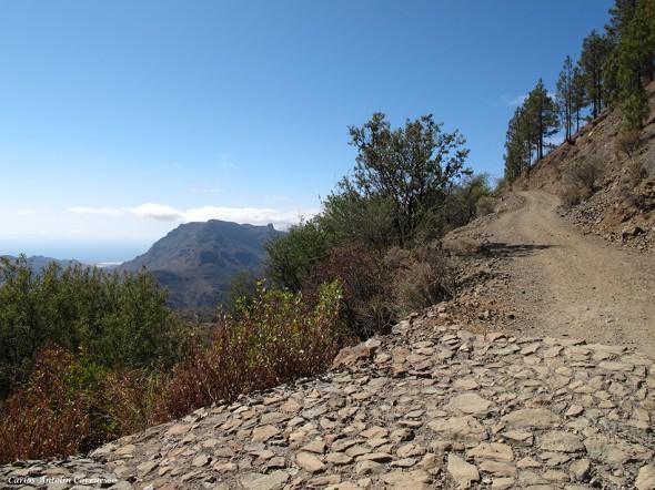 dirección a la Degollada de la Manzanilla - Gran Canaria