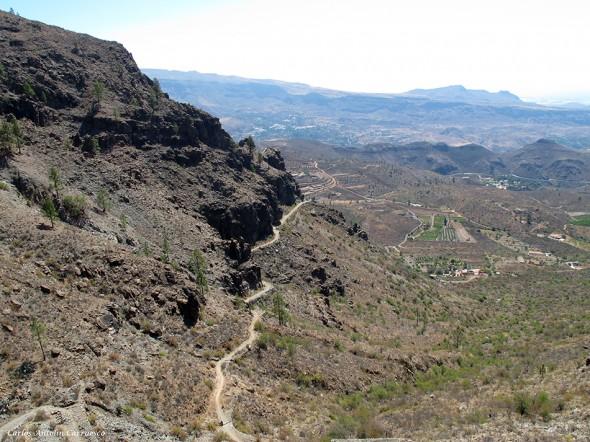 Degollada de la Manzanilla - Parque Natural de Pilancones - Gran Canaria