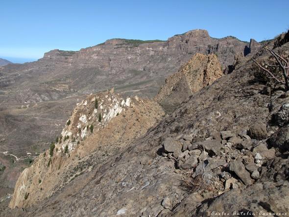 Riscos de Tirajana - Risco Blanco - Gran Canaria