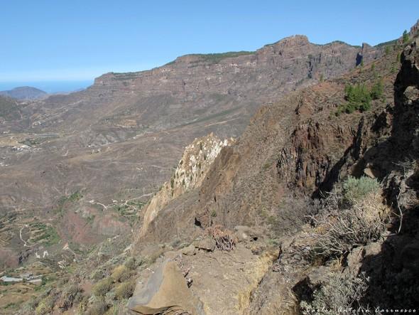 Riscos de Tirajana - Gran Canaria - risco blanco
