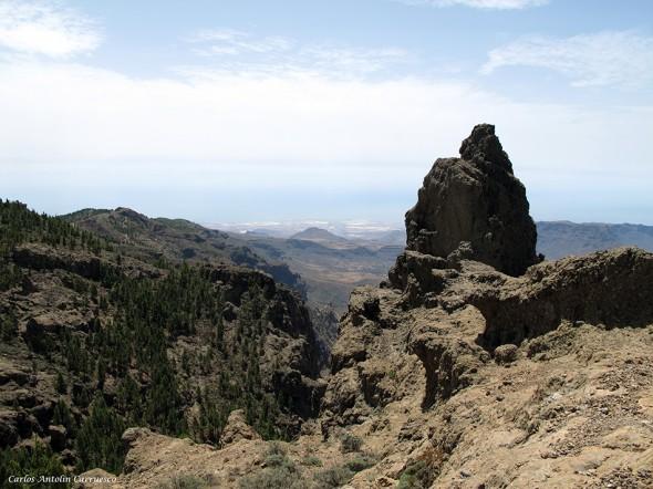 Morrón de la Agujerada (1.956 metros) - Pico de las Nieves - Gran Canaria