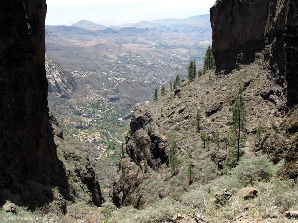 Cañadón del Jierro (Ruta de Bentejuí)Riscos de Tirajana - Gran Canaria