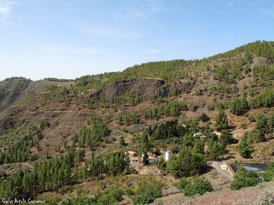 Caldera de Los Marteles - Los Bucios - Gran Canaria - Barranco de Guayadeque