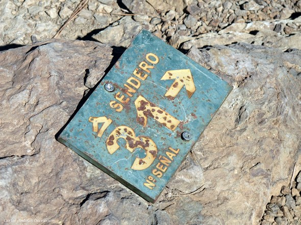 sendero Nº31 - parque nacional del teide - senderos - tenerife