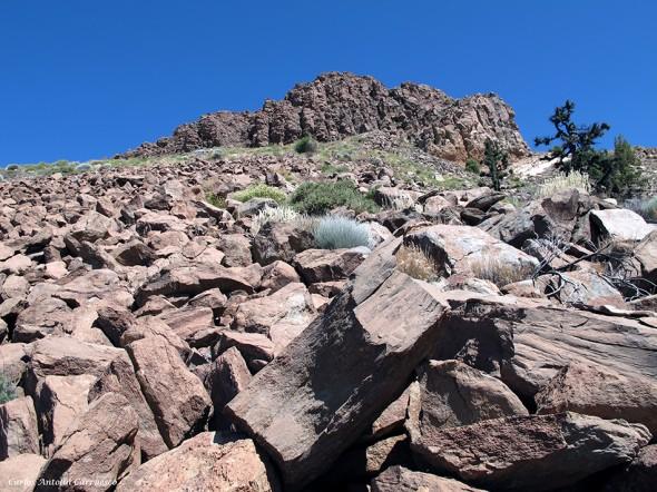 Cumbres de Ucanca - Roque de Los Almendros - Parque Nacional del Teide<br />Tenerife