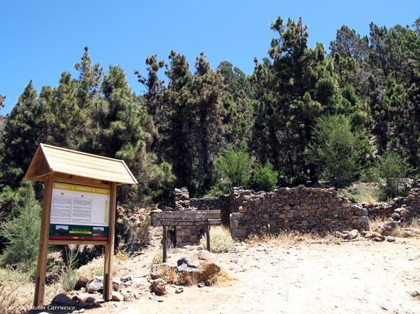 """sendero """"el Sombrero de Chasna"""" - Tenerife"""