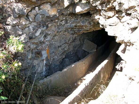 Ventanas de Güimar - Tenerife - primer túnel