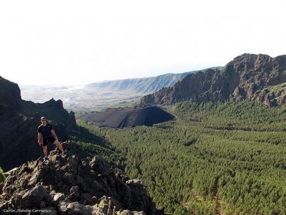 Roque Acebe - Caldera de Pedro Gil - Tenerife
