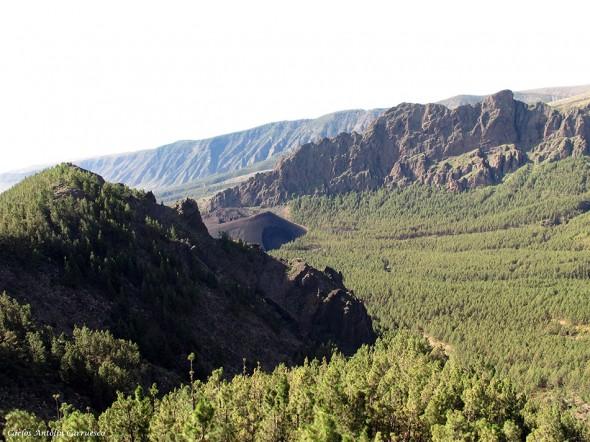 Caldera de Pedro Gil - Montaña de Las Arenas - Tenerife