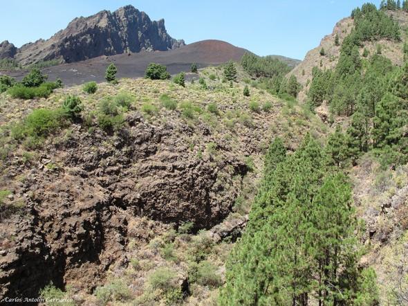 Barranco Las Saletas - Caldera de Pedro Gil - Tenerife