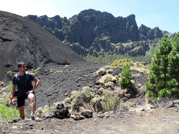 a pie del Volcán de Las Arenas - Caldera de Pedro Gil - Tenerife