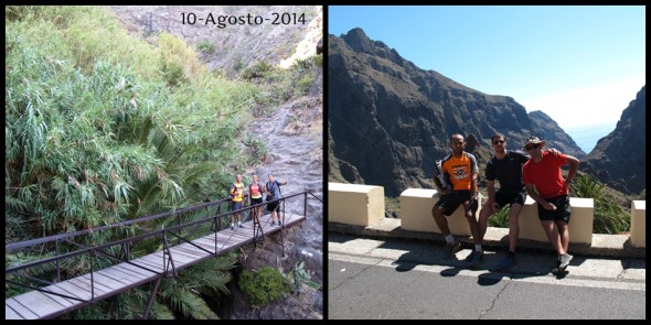 Macu - Miguel - David - Carlos - Teno - Tenerife