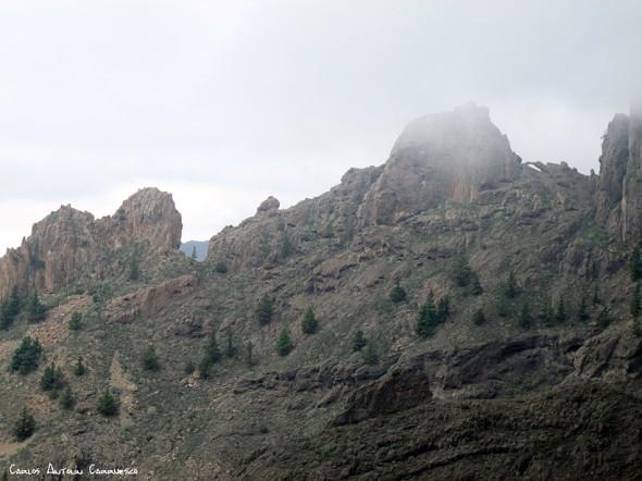 Degollada de los Frailitos desde el Camino de Suarez - Tenerife
