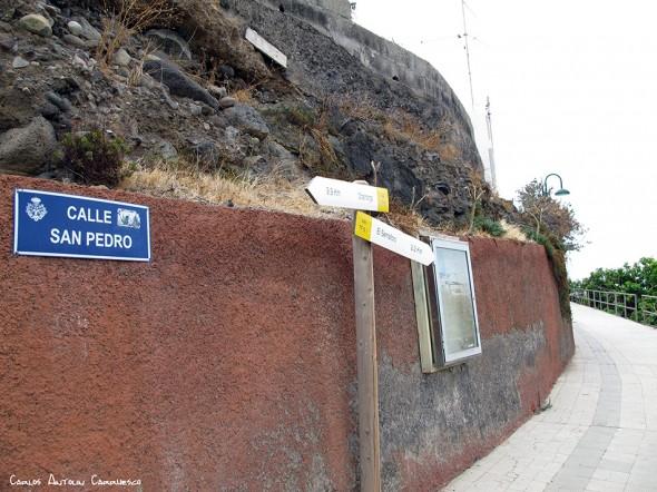 Igueste de San Andrés - Tenerife - el semaforo