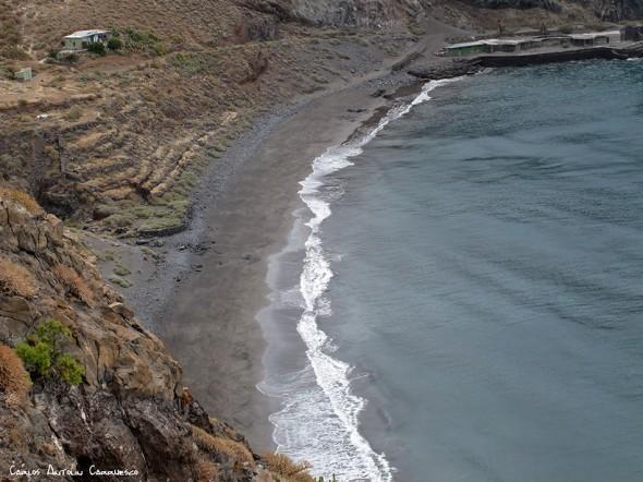 sendero a la Playa de Antequera - Anaga<br />