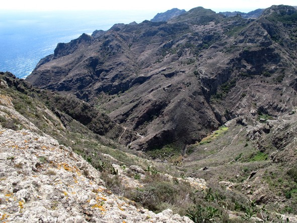 Anaga - Barranco Roque Bermejo - Tenerife