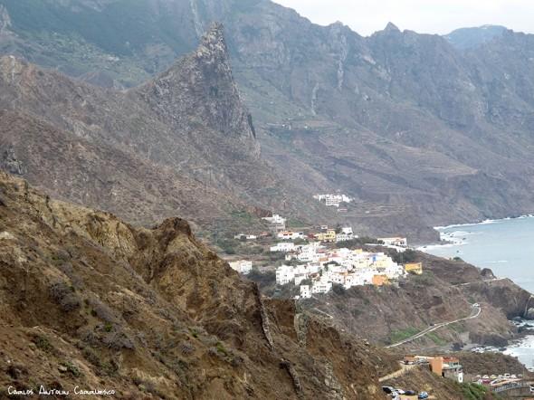Anaga - pista al Draguillo - Tenerife - almáciga - roque de las ánimas