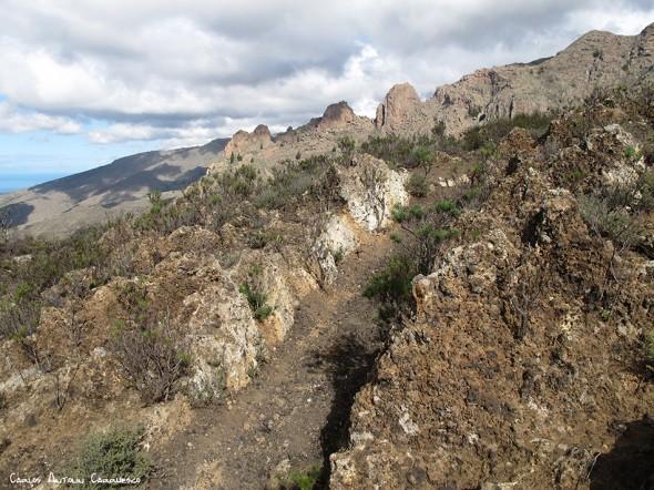 Camino de Suarez - Tenerife - degollada de los frailitos
