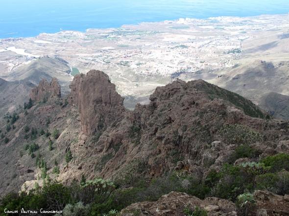 Roque de los Brezos - Adeje - Tenerife - frailitos
