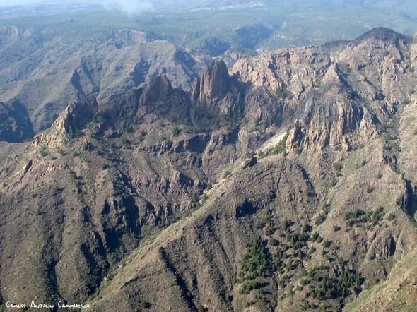 Roque del Conde - Tenerife<br/>Degollada de los Frailitos