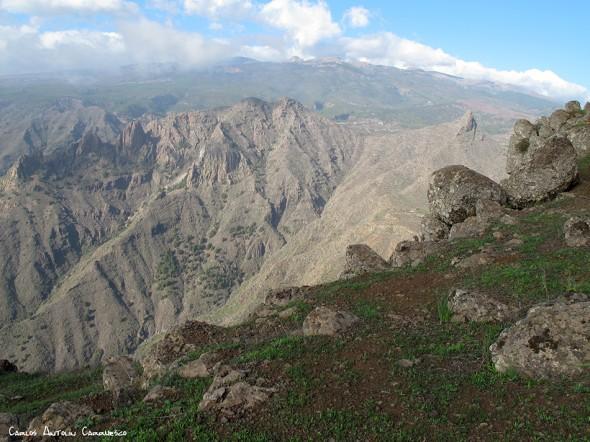 Roque del Conde - Tenerife<br/>Degollada de los Frailitos - Imoque