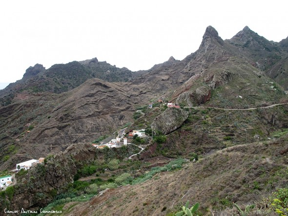 El Frontón - Afur - Anaga - Tenerife