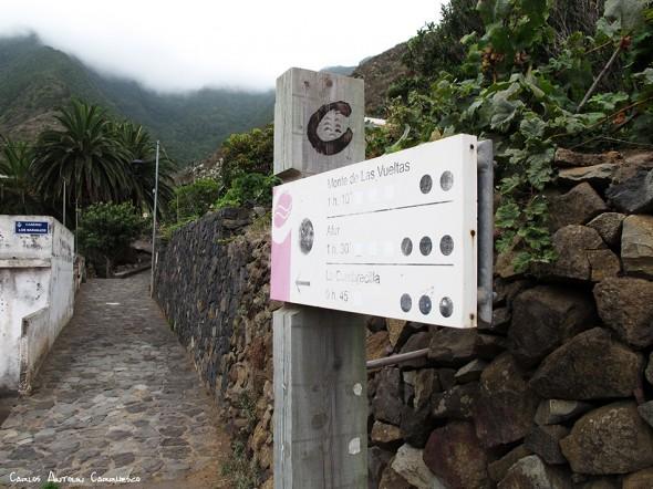 """Taganana - Anaga - Tenerife<br/>""""Camino de Las Vueltas"""""""