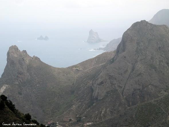 Taganana - La Cumbrecilla - Anaga - Tenerife - las ánimas - enmedio