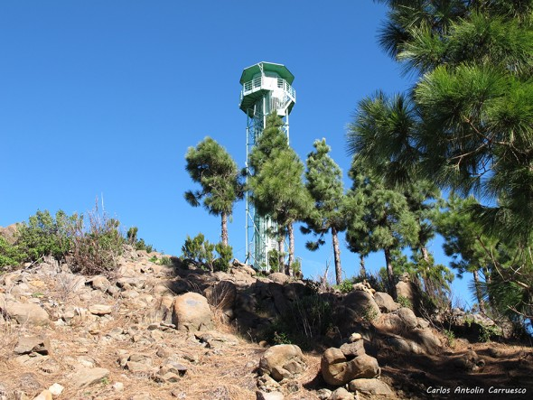 Santiago del Teide - Teno - Cumbre de Bolico - Tenerife - torreta forestal