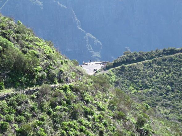 Masca - Parque Rural de Teno - Tenerife - cruz de hilda