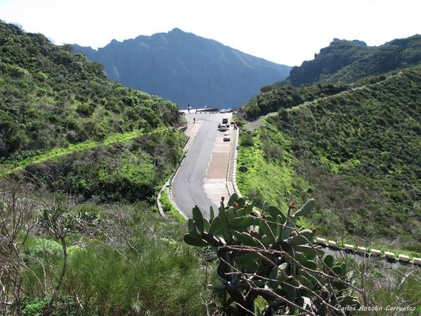 Masca - Parque Rural de Teno - Tenerife - mirador cruz de hilda