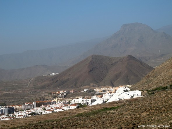 Monumento Natural Montaña de Guaza - Tenerife - los cristianos - roque del conde