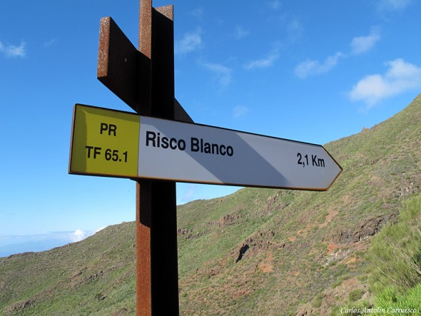 Risco Blanco - Parque Rural de Teno - Tenerife