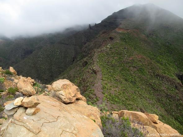 Risco Blanco (824 metros) - Teno - Tenerife