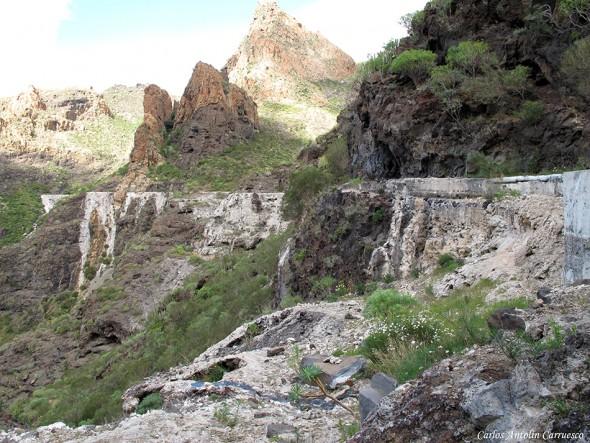 Canal El Sauce - Barranco Seco - Risco Blanco - Teno - Tenerife