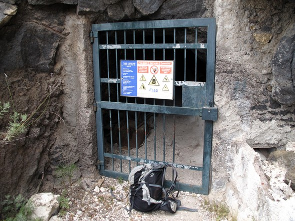Tunel 1 Boca Norte Canal Galería El Sauce - Tenerife