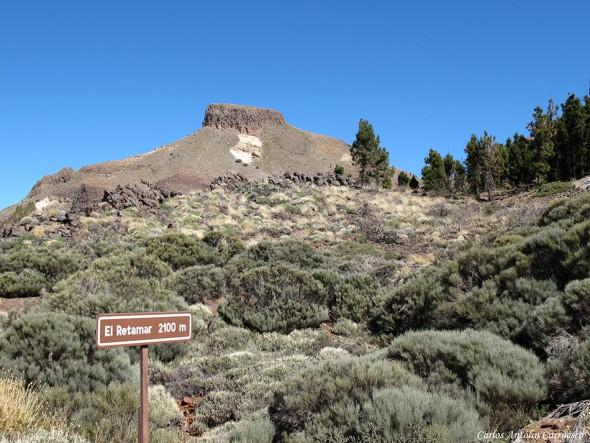 El Sombrero - TF-21 - Parque Nacional del Teide - Tenerife