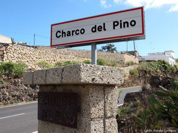 Charco del Pino - carretera general del Sur TF28 - Tenerife