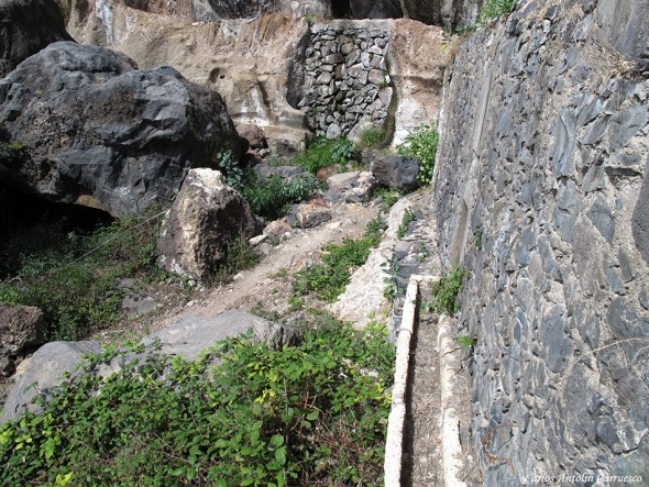 La Fuente de Tamaide - Camino Real del Sur - Tenerife