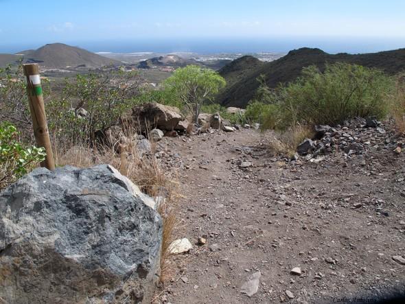 cruce de senderos - Camino Real del Sur - Tenerife