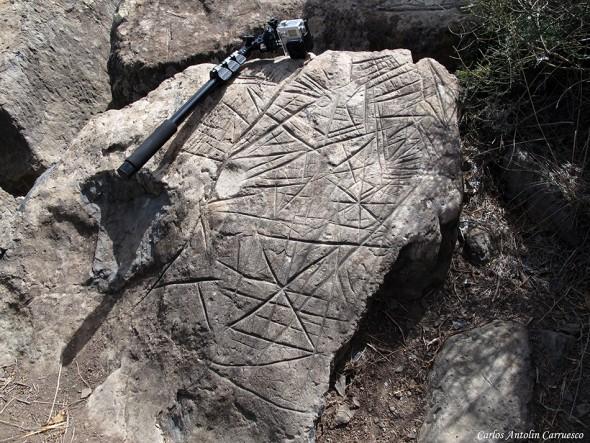 Grabados rupestres aborígenes