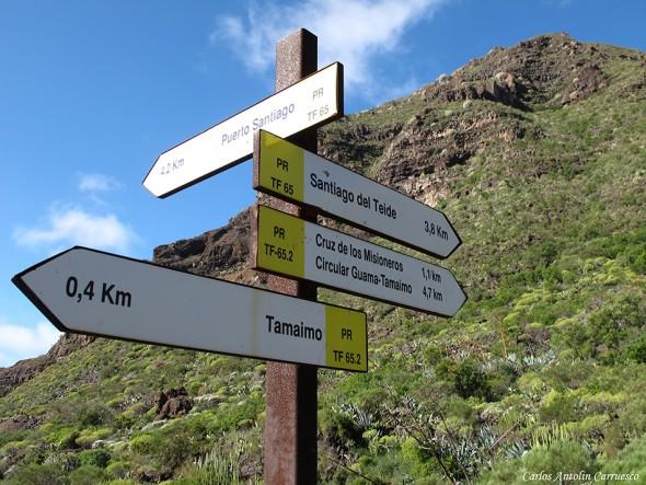 Tamaimo - Barranco de Santiago - Tenerife