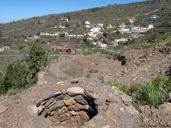 Guía de Isora - Aripe - Tenerife - Era de trilla y Horno de tejas