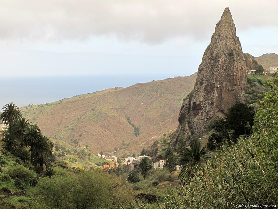 Hermigua - Roque El Chico - El Cedro - La Gomera