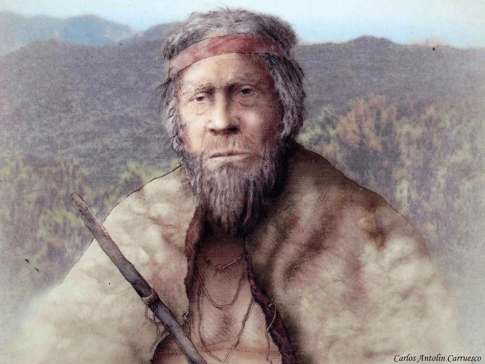 Alto de Garajonay - aborigen guanche - La Gomera