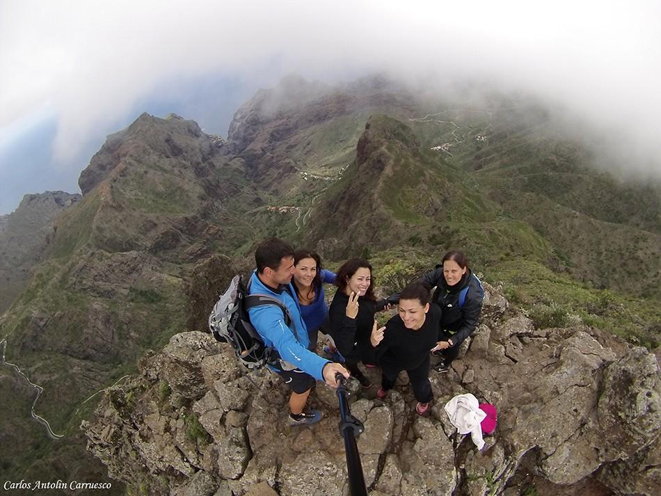 Morro Verde - Barranco de Masca - Tenerife