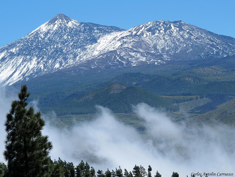 Teide y Pico Viejo - Valle de Santiago - Tenerife