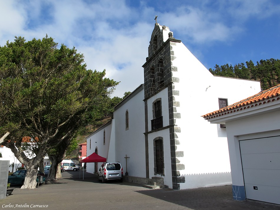 Iglesia de la localidad Los Canarios - La Palma