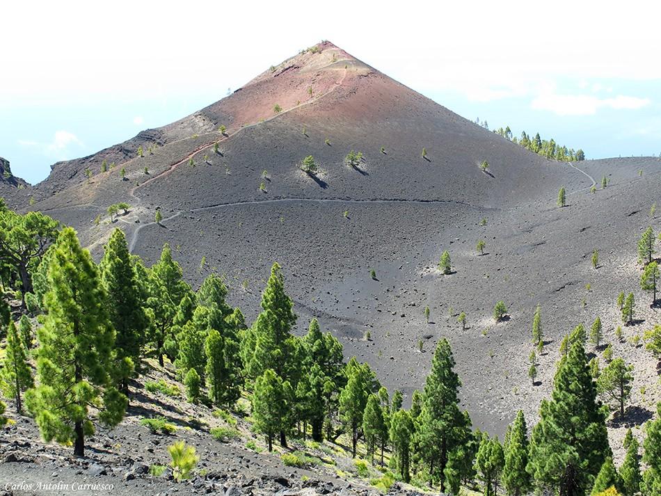 Transvulcania 2015 - GR131 - La Palma - volcan martín de tigalate