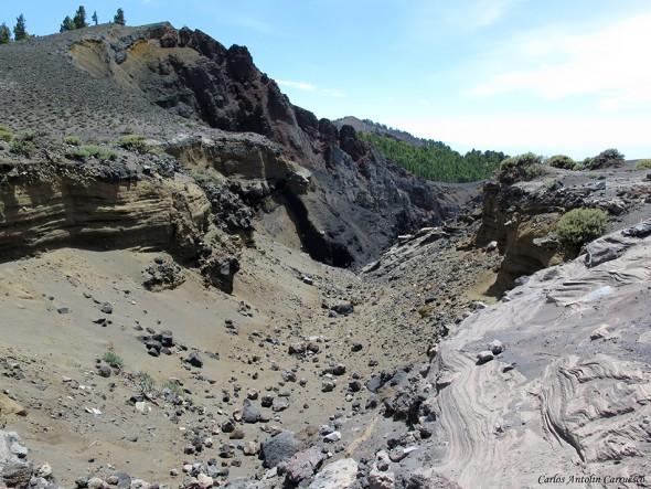 Transvulcania 2015 - GR131 - La Palma - cráter del hoyo negro